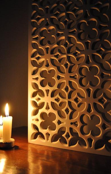 Celosía de madera, celosía decorativa, celosía arquitectura