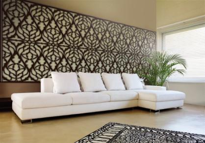 Paneles decorativos de celosías