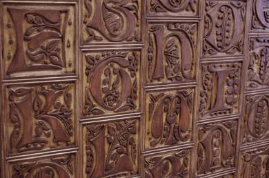 Andaluciart paneles tallados paneles decorativos - Paneles decorativos madera tallada ...