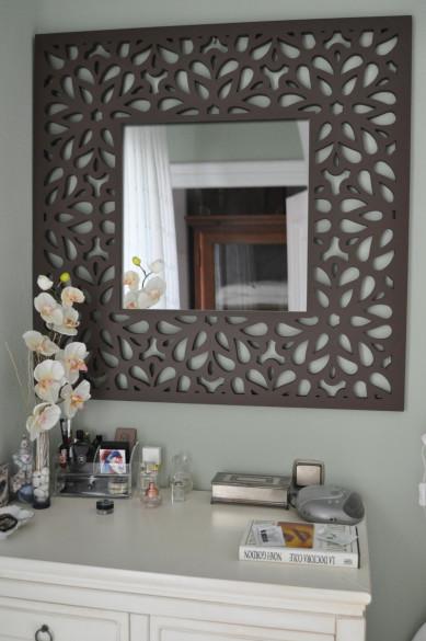 Celosía con hueco para espejo modelo nº55