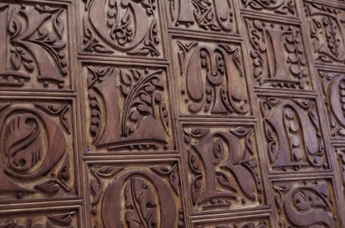 Letras decorativas, letras madera, letras artesanales, letras decorativas