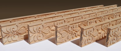 Cenefas talladas madera - modelos andalusi