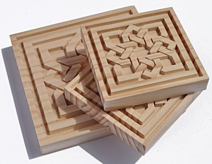 Talla en madera modelo arabesco andalusi