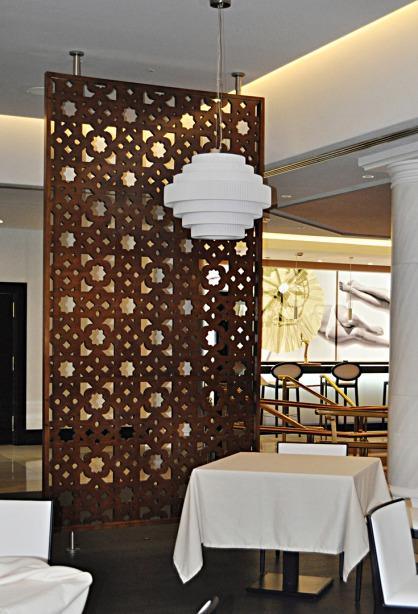 Panneaux treillis Mòdele nº4 - Casino Marbella - Espagne