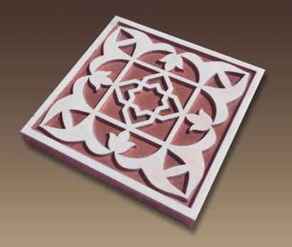 Talla en madera  -  Modelo arabesco